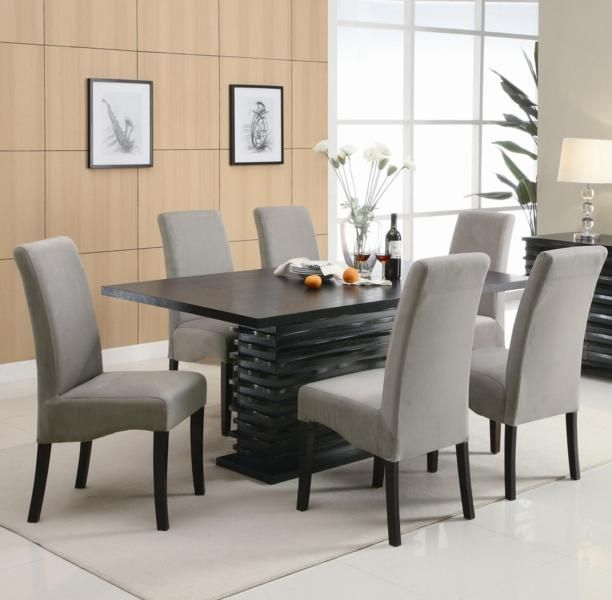 White And Black Dining Room Sets red dining table set - creditrestore