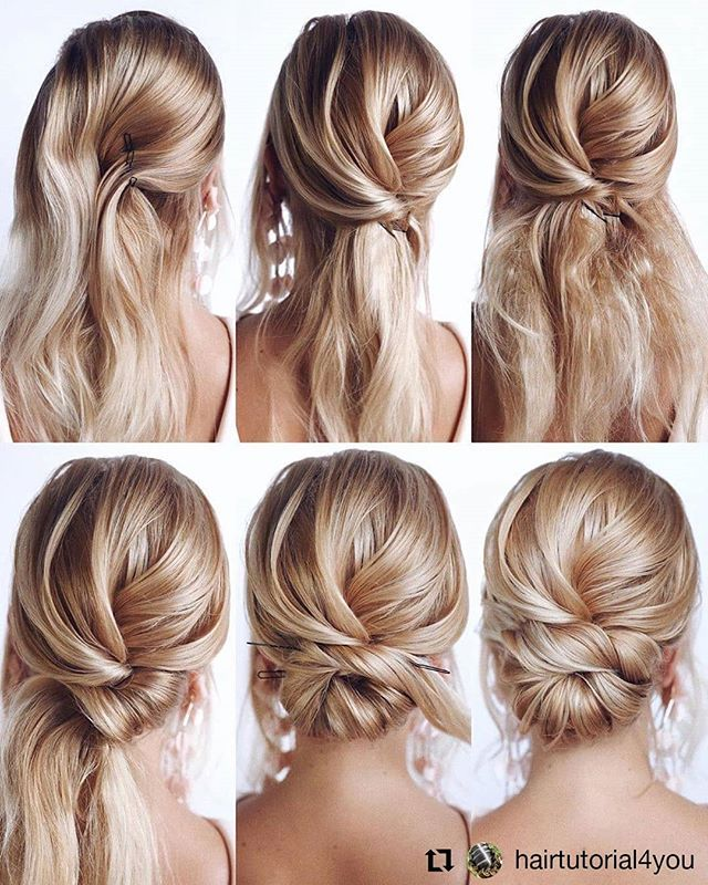 Hair style from @hairtutorial4you