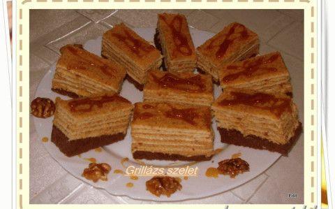Grillázs szelet recept fotóval