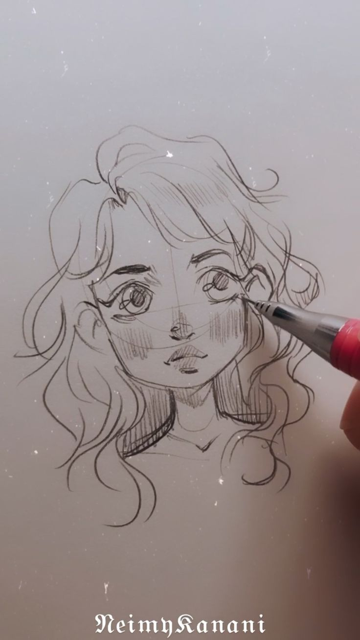 Art Drawings Sketches Simple, Pencil Art Drawings, Cute Drawings, You Draw, How To Draw Anime Eyes, What To Draw, How To Draw Hair, Drawing Hands, Drawing Eyes