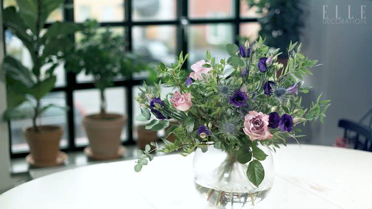 Så skapar du veckans fredagsbukett Blomsterprakt