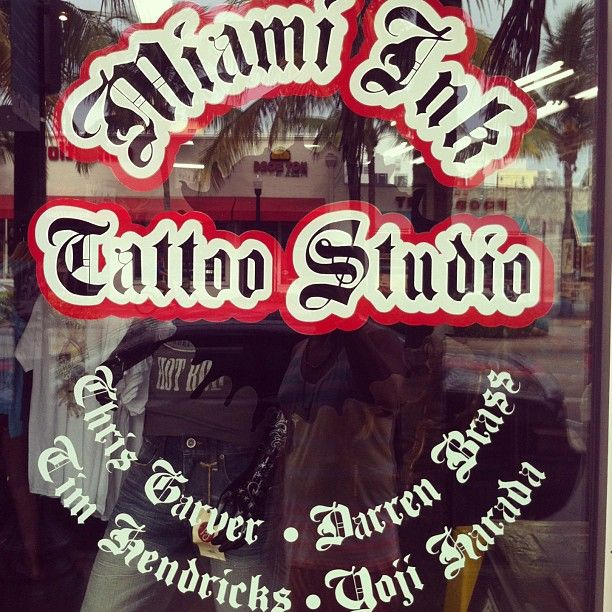 Miami Ink Tattoo Studio...I WANNA GOOOO......!!!!!!