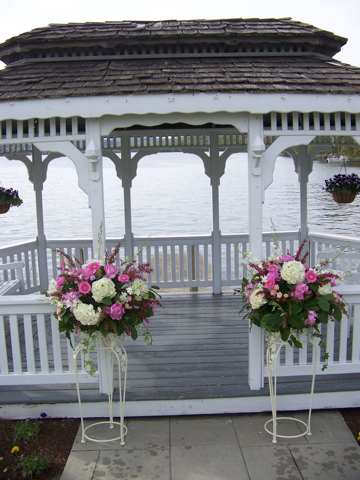 49 best candlewood inn weddings images on pinterest wedding pink and white ceremony flowers wedding at the candlewood inn junglespirit Choice Image