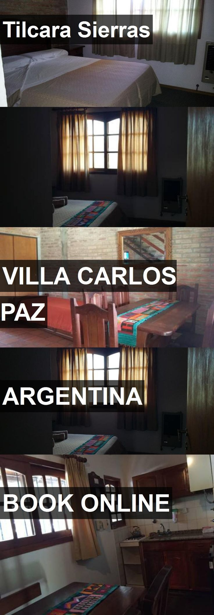 Hotel Tilcara Sierras in Villa Carlos Paz, Argentina. For more information, photos, reviews and best prices please follow the link. #Argentina #VillaCarlosPaz #travel #vacation #hotel