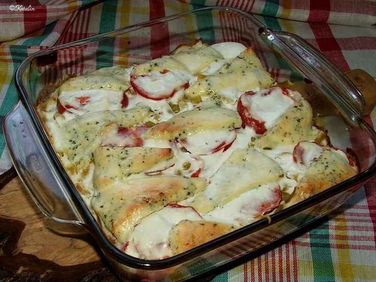Katalin konyhája: Rakott bab fűszeres gomolyával