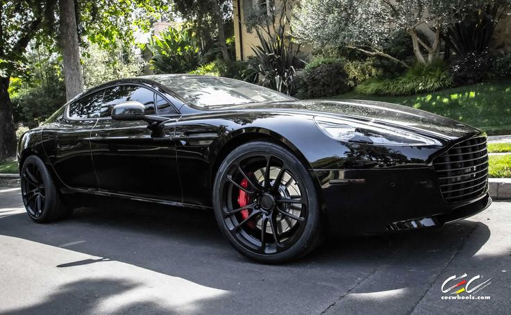 Aston Martin Rapide S with CEC Wheels and Black Out