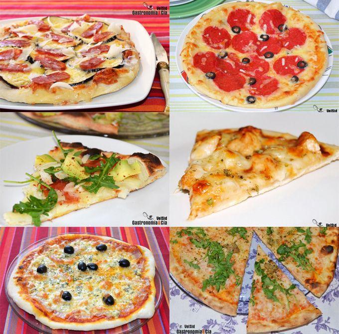 Doce recetas de pizza casera