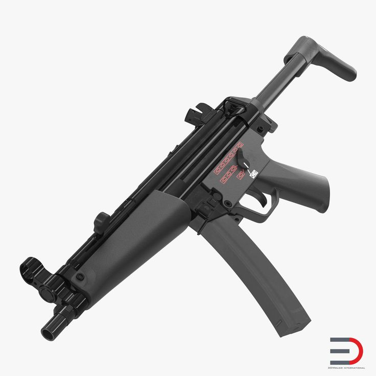 3D MP5A3 with Retractable Stock