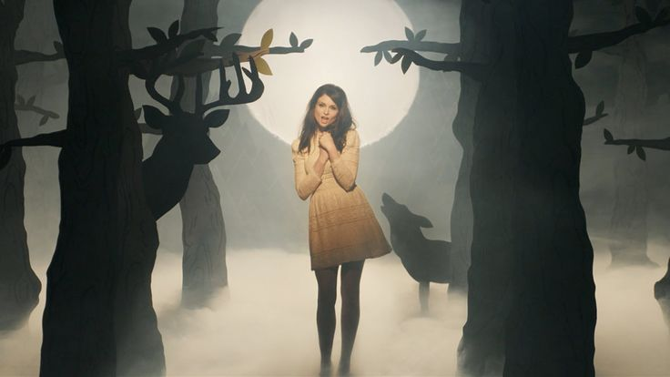 Music video for The Deer & The Wolf, the fourth single from the album Wanderlust, United Kingdom, 2014, by Sophie Ellis-Bextor.