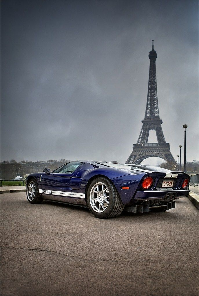 Ford GT In Paris.
