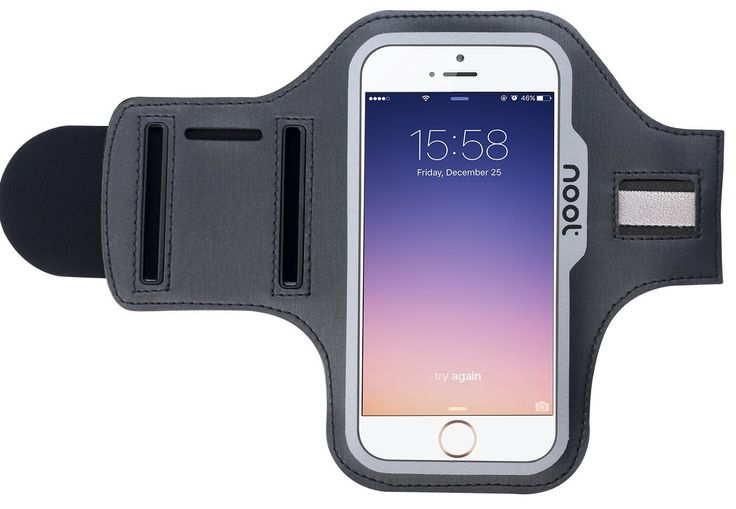 iPhone 6 Armband, Noot Runner Sport Armband with Key Holder for iPhone6 4.7 inch. Perfect fit for: Apple iPhone 6 [4.7 inch screen] Durably safe and effective solution for carrying your device and listening to music while you exercise. SECURE! - PRECISION MODLED NEOPRENE is durable, long lasting and flexible without losing its shape. The clear touch screen sensitive cover protects your screen while giving you full screen access. Includes an easy earphone jack connection. Bonus Safety...