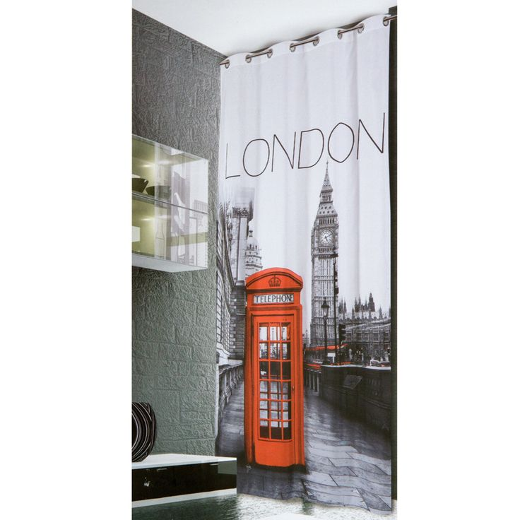 Tenda con borchie London www.carillobiancheria.it
