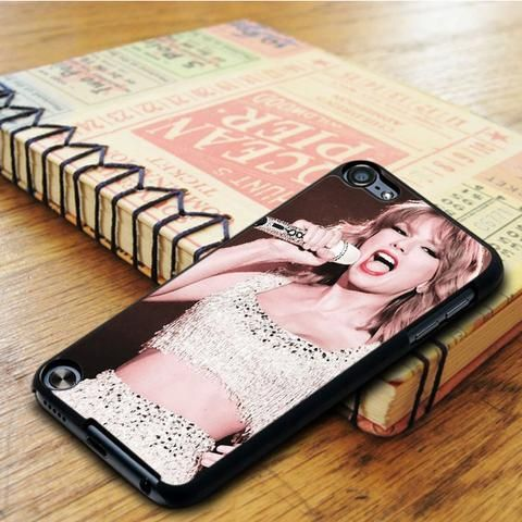 Taylor Swift Singer Show iPod 6 Touch Case