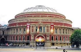 royal albert hall - I have sung here with Huddersfield Choral Society on a number of occasions