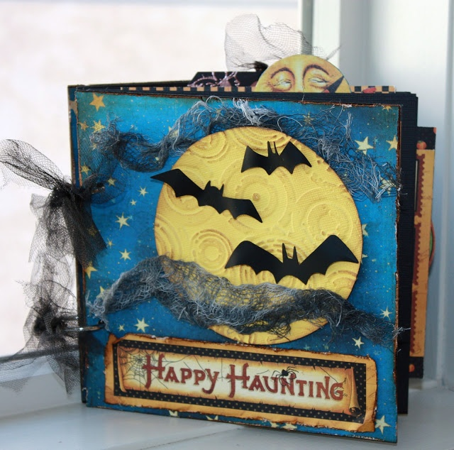 Graphic 45 Happy Haunting Halloween Mini Album
