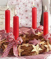 Basteln weihnachtslichter weihnachten  110 besten coronas de adviento Bilder auf Pinterest | Weihnachten ...