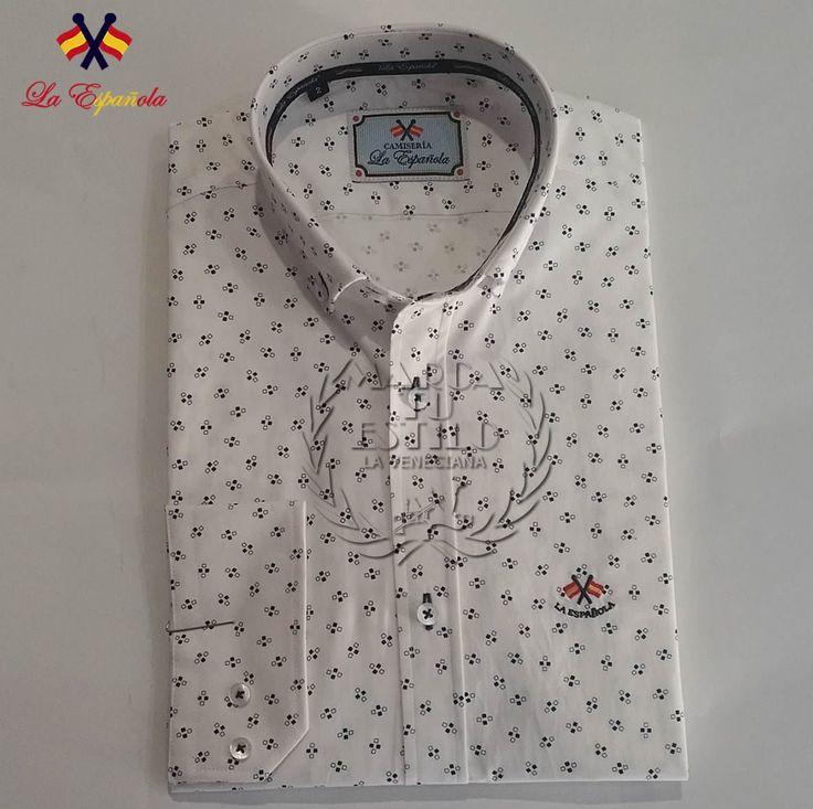 Camisa La Española Fantasia. Tenemos un amplio surtido de Camisas y entre ellas se encuentra esta marca La Española tan nuestra, Fabricadas en Loja (Granada), aprovechemos nuestros productos que son los que nos hacen fuertes y darnos cuenta de la calidad de nuestros Fabricantes.