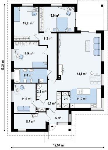 Apartamento de 4 quartos