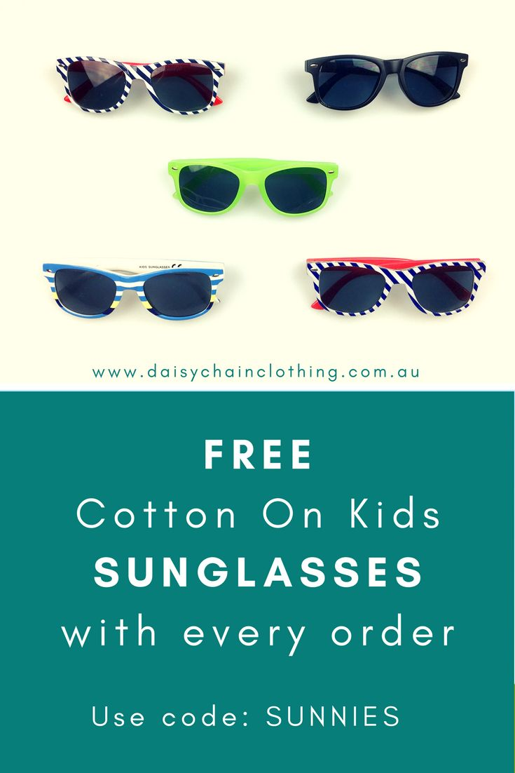 Keep your kids looking cool for less this summer! Shop & save across a broad range of brands (designer to discount) and clothing conditions (new & pre-loved). FREE Cotton On Kids sunglasses with every order (while stocks last).