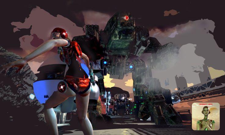 Robot Kati Massive Update , coming soon! - google play mobile game