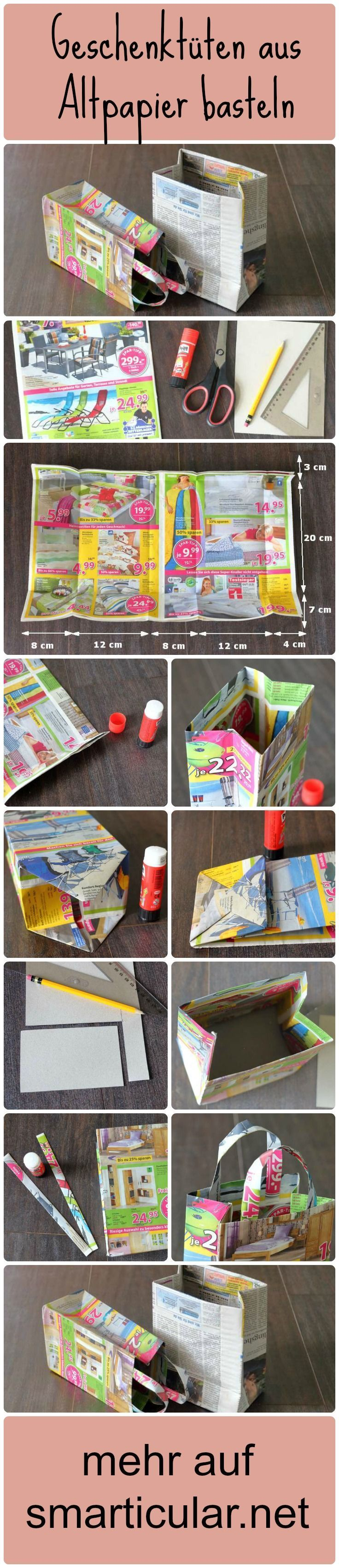 Making gift bags out of old paper – useless brochures with new regulations  Great crafting idea and still useful – tinker gift bags from waste paper – Looks really great ★ The post Making gift bags out of old paper – useless brochures with new regulations appeared first on Woman Casual.