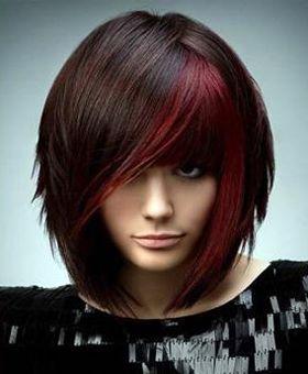 Классная стрижка для густых волос