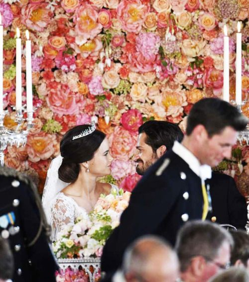 Bridal inspiration from the royal wedding of Carl Philip & Sofia { Stockholm, 13 June 2015 }