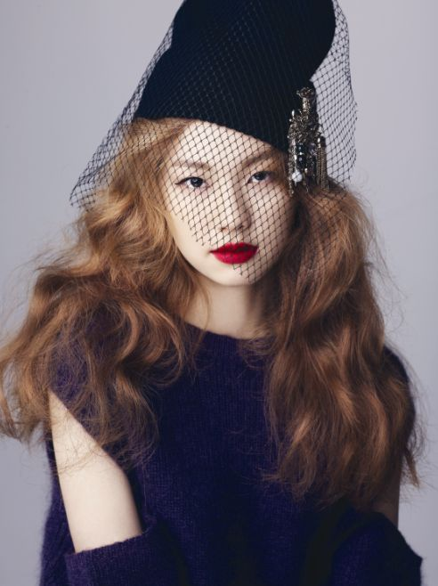 """ Kim Jinkyung by Lee Seungyeop for Ceci Korea Dec 2014 """