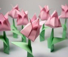 Origami Tulip Folding Instructions | Origami Instruction