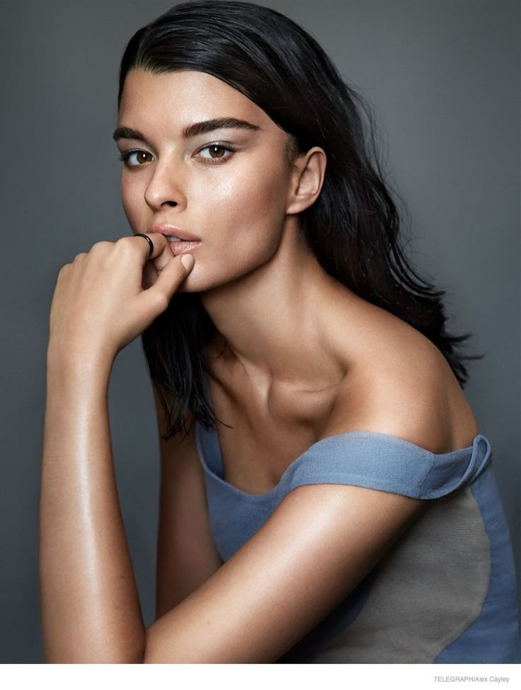 crystal renn photoshoot 2014 01 Crystal Renn Models Minimal Glam Style for Alex Cayley in Telegraph Shoot