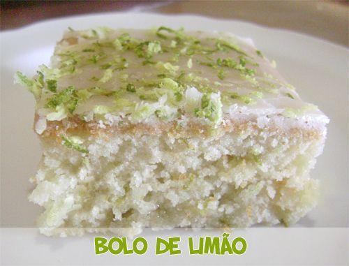 Bolo vegano de limão #bolo #cakes #vegano #vegan #veganfood #culinária