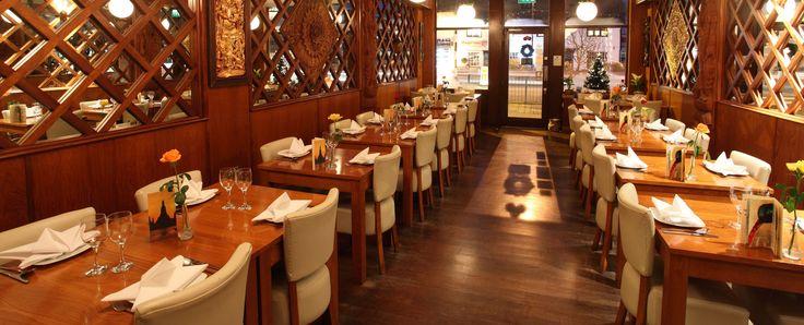 Bangkok Lounge in Harpenden  #modern #stylish #designer #fresh #lovefood #meal #chopsticks #traditional #dragon #oriental #treat #meal #dine #celebrate #date #romantic #romance #love #anniversary