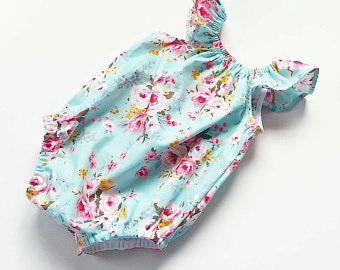 Floral romper from @eliseandeverly flutter sleeves