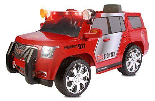 Rollplay GMC Yukon Denali 6 Volt Battery Powered Ride On, Fire Rescue. #Rollplay #Yukon #Denali #Volt #Battery #Powered #Ride #Fire #Rescue