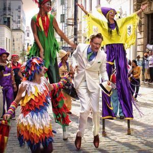 Click to Watch Conan O'Brien Take a Hilarious Vacation in Havana, Cuba