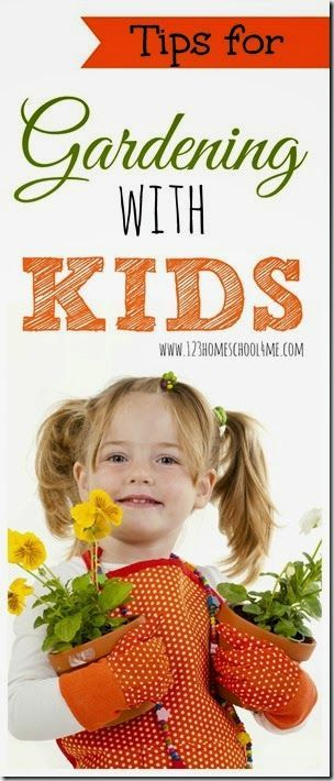 Practical tips for gardening with kids including what to plant with kids, how to garden successfully with kids, and more..