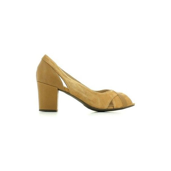 Stonefly 102178 Decolletè Women Court Shoes (€44) ❤ liked on Polyvore featuring shoes, pumps, brown, court shoes, women, stonefly shoes, brown shoes, stonefly and brown pumps