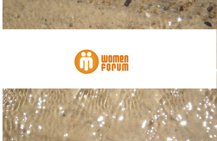 logo. WOMEN FORUM