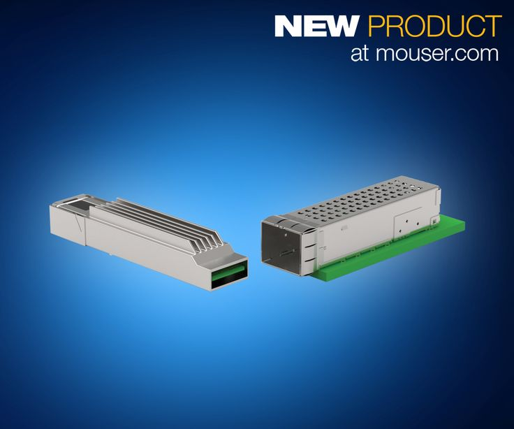 Mouser Electronics, Inc., the industry's leading New Product Introduction (NPI) distributor with the widest selection of semiconductors and electronic components, now offers microQSFP high-speed pluggable input/output (I/O) interconnects from TE Connectivity (TE), a world leader in connectivity and sensors. TE's microQSFP interconnects, available from Mouser Electronics, are next-generation micro quad small form-factor pluggable (microQSFP) solutions …