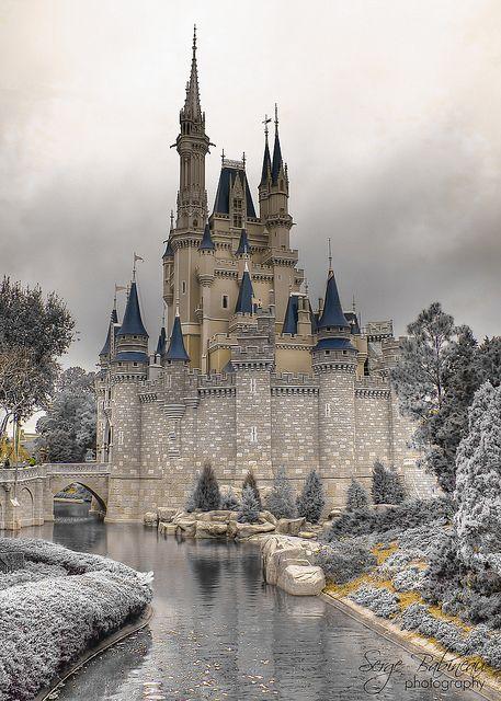 Cinderella Castle in infrared.