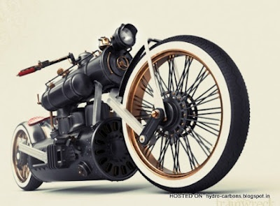 Train Wreck bike of designer Colby Higgins