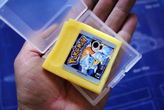 Gameboy Parody Cart Soap: Retro and geeky Handmade by NerdySoap
