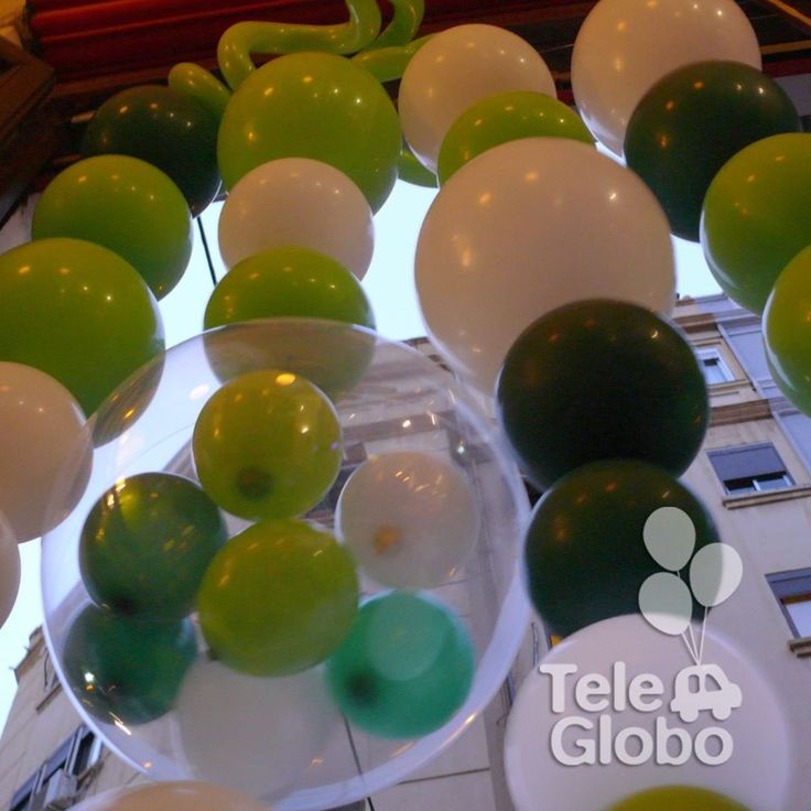 Decoración con globos para 40 cumpleaños