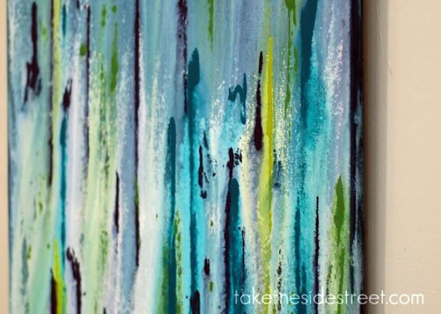 Take the Side Street: DIY Drip Painting