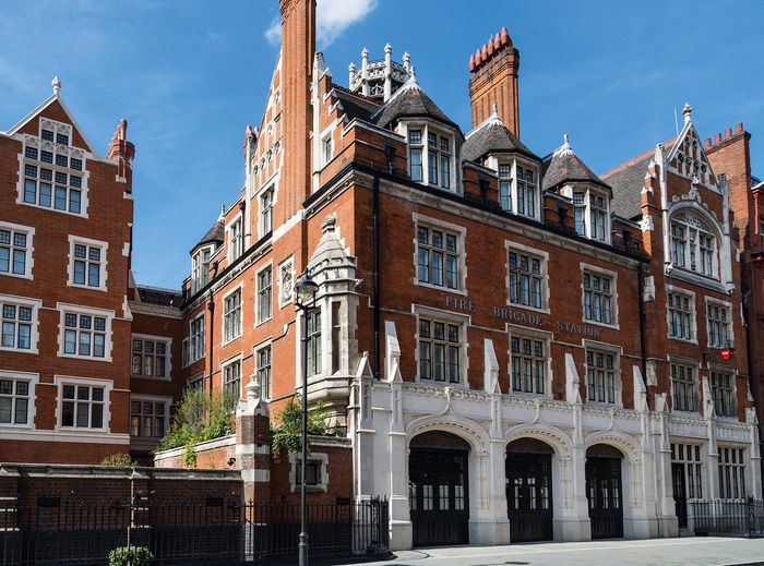 The Chiltern Firehouse by David Archer & Julie Humphryes of Archer Humphryes Architects