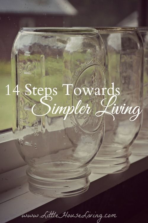 14 Steps Towards Living a Simpler Lifestyle. Some great tips and advice here if you truly want to escape the hustle and bustle and live simpler.