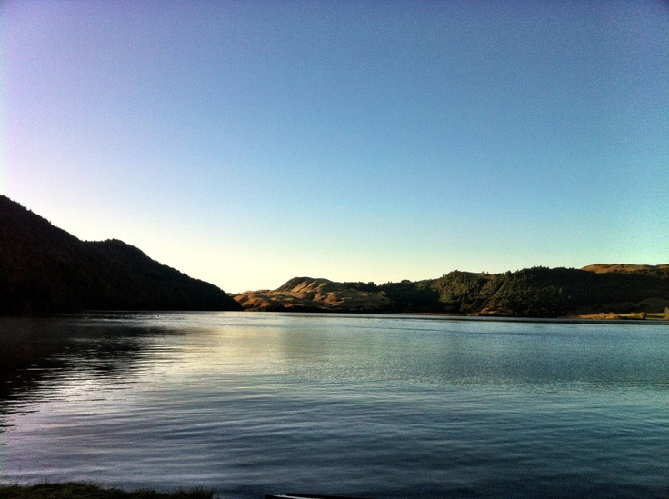 Lake Okareka on a gorgeous Autumn morning