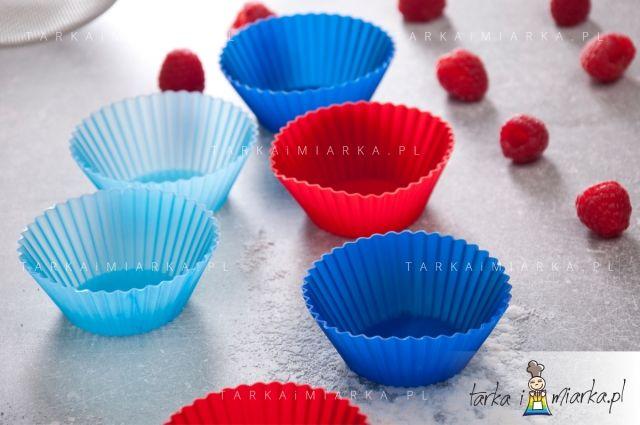 Kolorowe babeczki silikonowe Practic