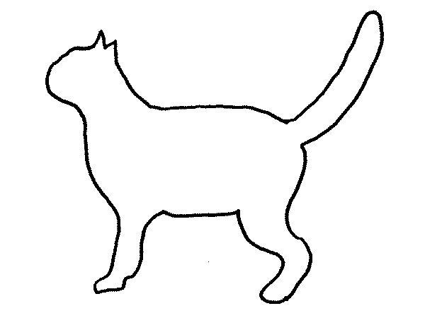 Contorno de gato gatos ruivos and gatos on pinterest