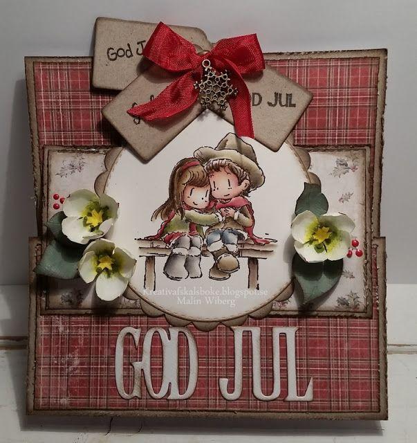 Kreativ af Skälsböke: Blandade julkort